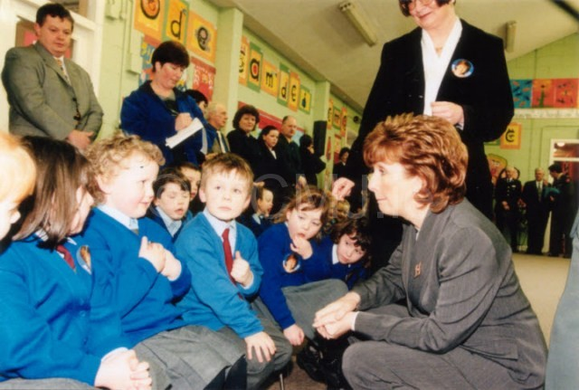 A visit by our former President - Mary McAleese, 1999